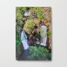 Florence Falls - view from above-NT, Australia Metal Print