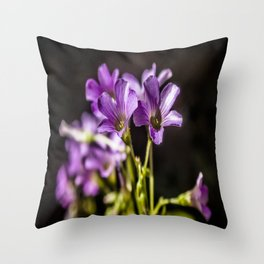 Springtime Blooms Throw Pillow