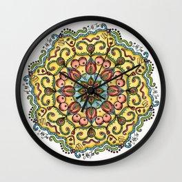 #MeToo Mandala Wall Clock