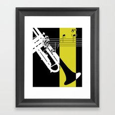 Brass II Framed Art Print