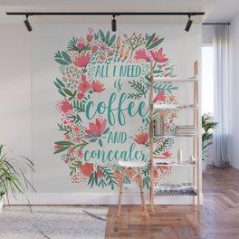 Coffee & Concealer – Juicy Palette Wall Mural