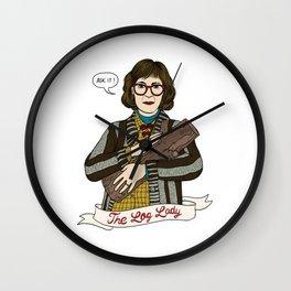 Twin Peaks (David Lynch) The Log Lady Wall Clock