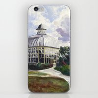 baltimore iPhone & iPod Skins featuring Baltimore Conservatory by Taylor Smith-Hams