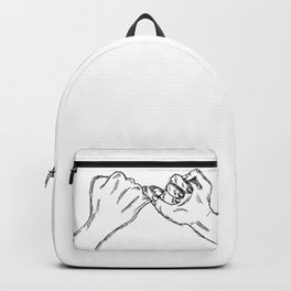 Do you pinky promise? Backpack
