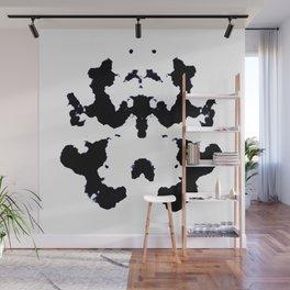 Black ink art Wall Mural
