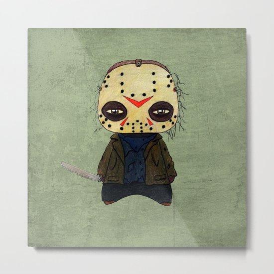A Boy - Jason ( Friday the 13th) Metal Print
