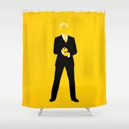Barney Stinson Shower Curtain