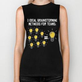 Problem Solving or Brainstorming Tshirt Design Brainstorming method for team Biker Tank