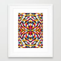 stained glass Framed Art Prints featuring Stained Glass by Danny Ivan