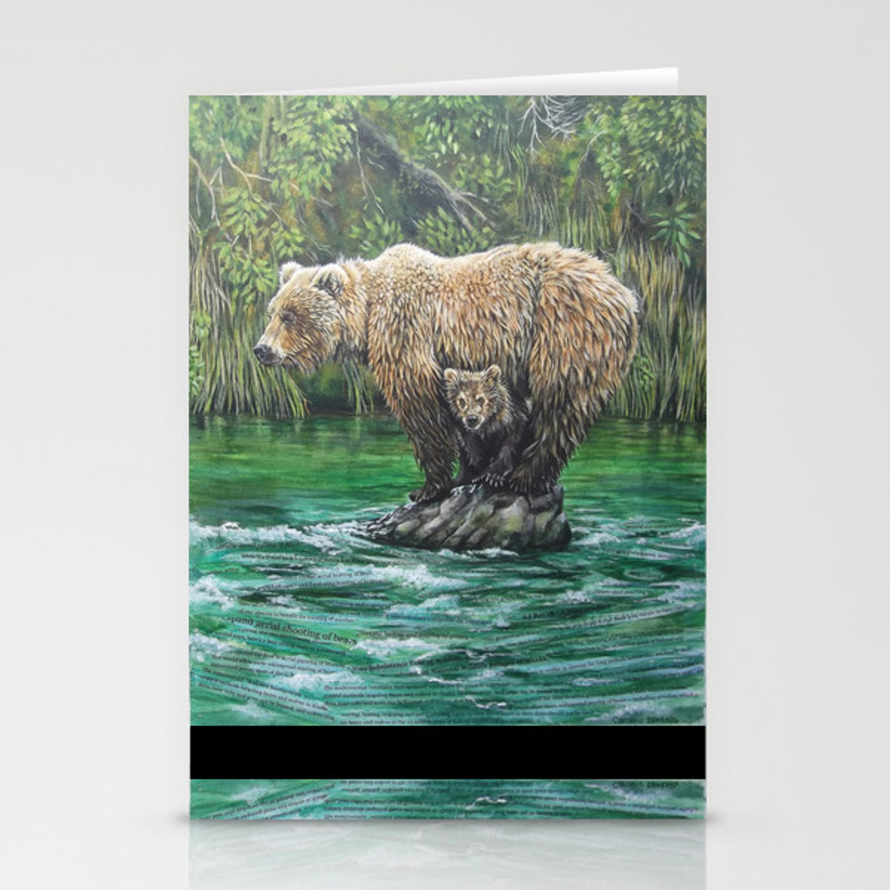 Bear Today, Gone Tomorrow? Stationery Cards by Clbletsis CRD6842120