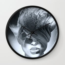 Wave girl Wall Clock