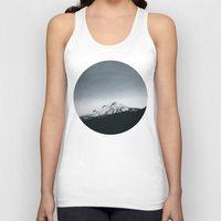 oregon Tank Tops featuring Mt. Hood x Oregon by Leah Flores