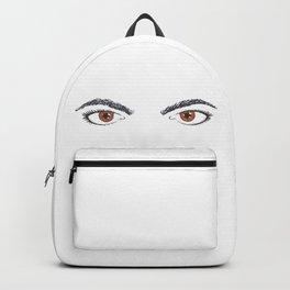 I see fire. Backpack