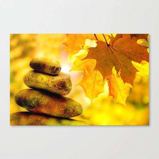 Fall meditation Canvas Print