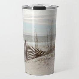 Sandbrake at the Beach Travel Mug
