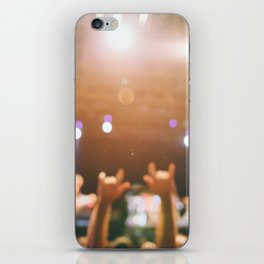 Rock and roll! iPhone Skin