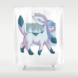 Glaceon Shower Curtain