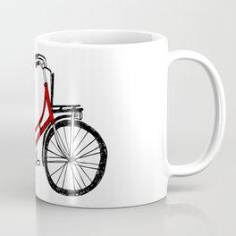 Love to ride - Dutch bicycle Coffee Mug