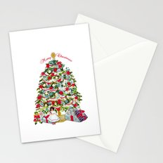 Underneath the Christmas Tree Stationery Cards