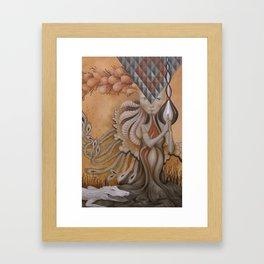 Pass Through Fire Framed Art Print