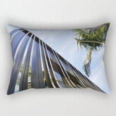 Palm Trees and Chrome Rectangular Pillow