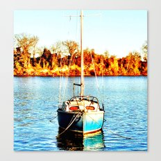 Sail 2 Urbanna Canvas Print