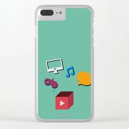 Zanzebek YT Clear iPhone Case