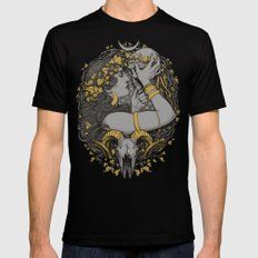 The WITCH LARGE Mens Fitted Tee Black