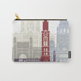 Mumbai skyline poster Carry-All Pouch