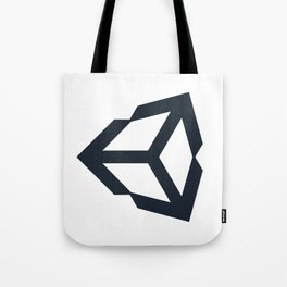 unity 3d engine logo sticker Tote Bag
