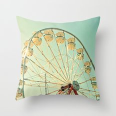 Ferris Wheel Magic Throw Pillow