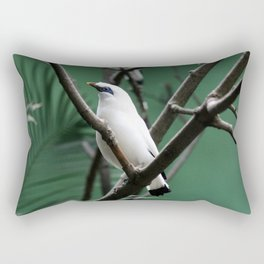 Bali Mynah Rectangular Pillow