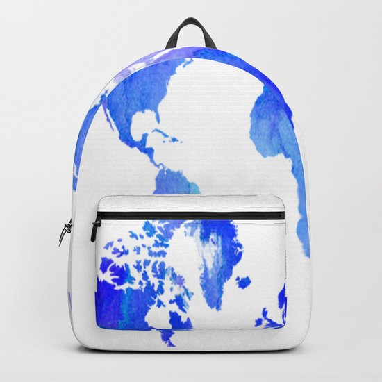 Watercolour World Backpack