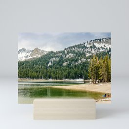 Twin Lakes, Mammoth Lakes, California Mini Art Print