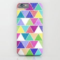 Triangle Print; Slim Case iPhone 6s