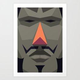 King (Big) Art Print