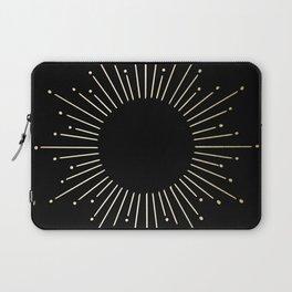 Mod Sunburst Gold 1 Laptop Sleeve