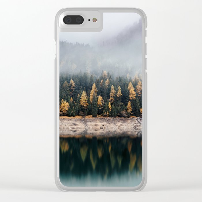 autumn vibes Clear iPhone Case