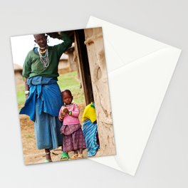 Village Life Stationery Cards