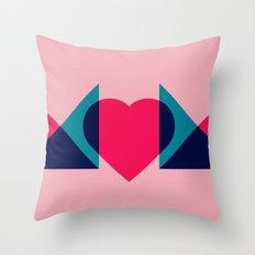 HEART MOM Throw Pillow