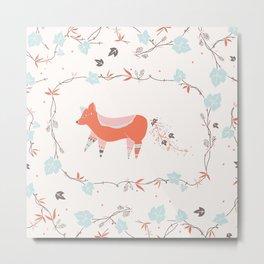 fox & grapes Metal Print