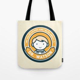 Cute John Watson - Orange Tote Bag