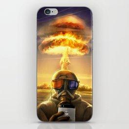 last selfie iPhone Skin