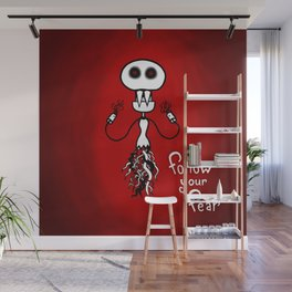 Follow Your Fear Wall Mural