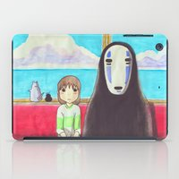 spirited away iPad Cases featuring Spirited Away by Janice Wong