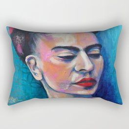 Je te ciel, hommage à Frida Kahlo Rectangular Pillow