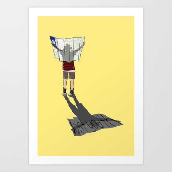 Lost Youth Art Print