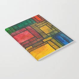 Primary Patchwork Notebook