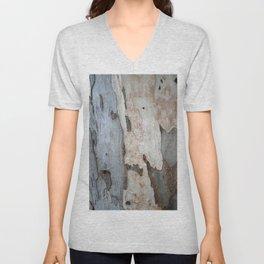 Bark Of A Eucalyptus Tree  Unisex V-Neck