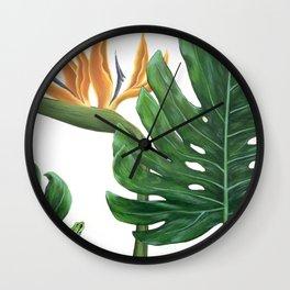 Indoor Bouquet Wall Clock